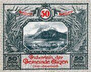 50 Heller (Aigen; Grey issue) -  obverse