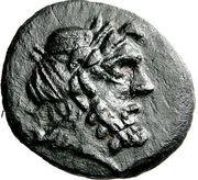 Bronze Æ18 - Epikrates (Hypata) – obverse