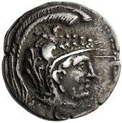 Trihemidrachm - Epikrates (Hypata) – obverse