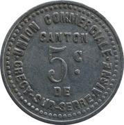 5 Centimes - Union Commerciale (Crecy sur serre) – obverse