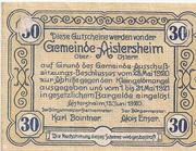 30 Heller (Aistersheim) -  reverse