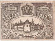 50 Heller (Aistersheim) – obverse
