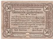 50 Heller (Aistersheim) – reverse