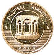 10 Lekë (85th Anniversary of Tirana as Capital) -  obverse
