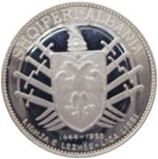 5 Lekë (League of Lezhë) -  reverse