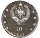 10 Lekë (Skanderbeg's Death) – obverse