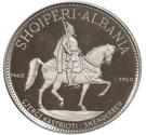 10 Lekë (Skanderbeg's Death) – reverse