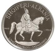 10 Lekë (Skanderbeg's Death) -  reverse