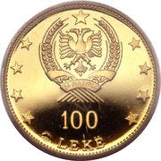 100 Lekë (Peasant Girl) -  obverse