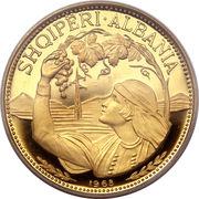 100 Lekë (Peasant Girl) -  reverse