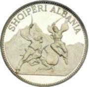 25 Lekë (Skanderbeg's Victory over the Turks) -  reverse
