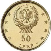 50 Lekë (Gjirokastër) -  obverse