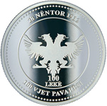100 Lekë (100th Anniversary of Independence) -  reverse