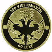50 Lekë (Independence) -  reverse