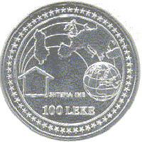 500 Anniv UNC 2001 MICHELANGELO/'S Statue of David Albania 50 Leke BU