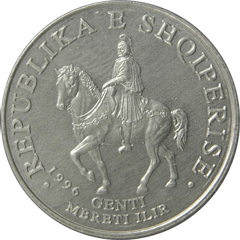 50 Leke Albanie 2002
