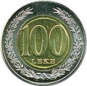 100 Lekë -  reverse