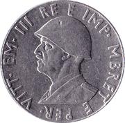 2 Lek - Victor Emmanuel III – obverse