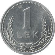 1 Lek -  reverse