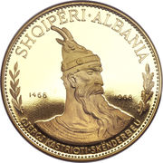 500 Lekë (Prince Skanderbeg) -  obverse