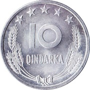 10 Qindarka – reverse