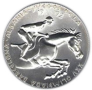 10 Lekë (1992 Summer Olympic Games) -  reverse
