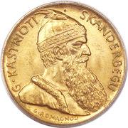 20 Franga Ari (Skanderbeg) – reverse