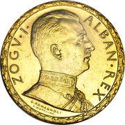 100 Franga Ari - Zog I (Prova) -  obverse