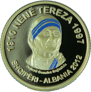 200 Lekë (Mother Teresa) -  obverse