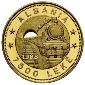Albania coin.