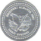 100 Lekë (European Integration) – obverse
