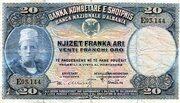 20 Franka Ari – obverse
