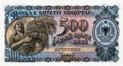 500 Lekë – reverse