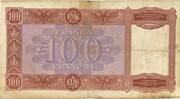 100 Franga – reverse