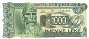 1 000 Leke – obverse