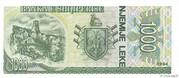 1 000 Leke – reverse