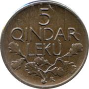 5 Qindar Leku – reverse