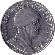 1 Lek - Vittorio Emanuele III -  obverse