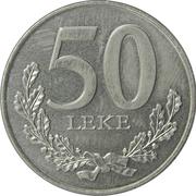 50 Lekë – reverse
