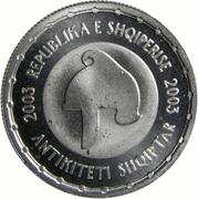 50 Lekë (Albanian Antiquity) -  obverse