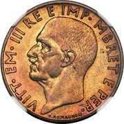 0.10 Lek - Vittorio Emanuele III (Prova) -  obverse