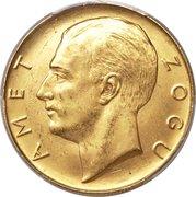 100 Franga Ari (Zog; Prova) -  reverse