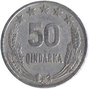 50 Qindarka -  reverse