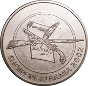 100 Lekë (Albania's Declaration of Independence) -  obverse