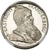 20 Franga Ari (Skanderbeg; Prova) -  reverse