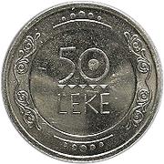 50 Lekë -  reverse