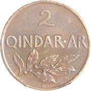 2 Qindar Ari - Zog I -  reverse