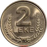 2 Lekë -  reverse