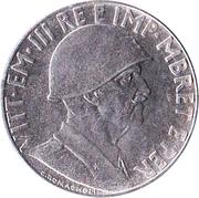 0.20 Lek - Vittorio Emanuele III – obverse