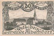 50 Heller (Alberndorf) -  obverse
